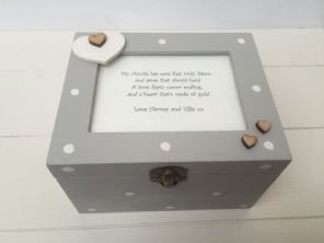Shabby Personalised Chic Gift Special Auntie Aunty Aunt Keepsake Box Birthday